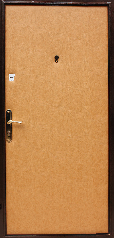 купить стальную дверь с винилискожей